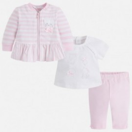 Mayoral 1810-28 track-suit z tričko dívčí barva růžová