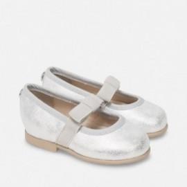 Mayoral 41850-42 boty dívčí stříbrná barva