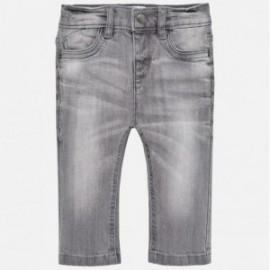 Mayoral 30-59 Chlapčenské kalhoty džíny barva šedá