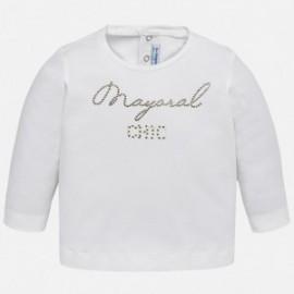 Mayoral 116-38 Dívčí tričko barva smetany