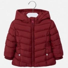 Mayoral 414-36 Dívčí bunda prošívaná malinovou barvou