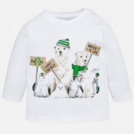 Mayoral 2022-61 tričko chlapci barva bílá