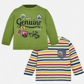 Mayoral 2030-45 košile chlapci 2 položky barva zelená