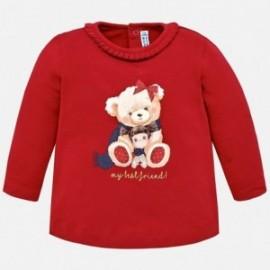 Mayoral 2044-78 Dívčí tričko červená barva