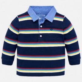 Mayoral 2112-79 tričko chlapci pólo barva námořnictva