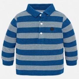 Mayoral 2118-73 Polo pro chlapce pruhy modré