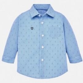 Mayoral 2136-87 Chlapec modrá košile