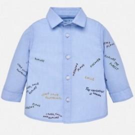Mayoral 2138-23 Košile chlapecké modré