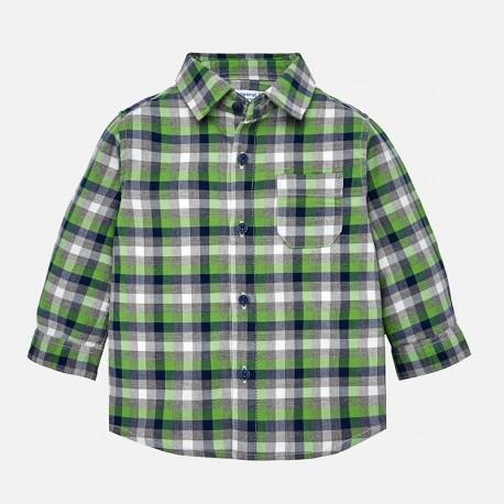 Mayoral 2142-26 Chlapecká košile zelená barva