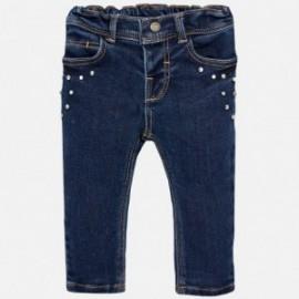 Mayoral 2576-28 kalhoty dívčí barva tmavé džíny