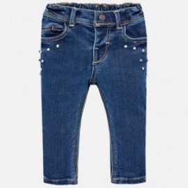 Mayoral 2576-29 kalhoty dívčí barva lehké džíny