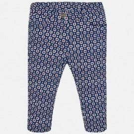 Mayoral 2578-37 Dívčí kalhoty barva granát