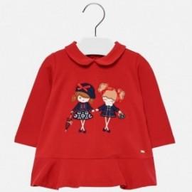 Mayoral 2936-49 Mayoral 2936-49 Dívčí šaty červené barvy