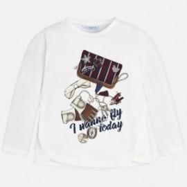 Mayoral 4056-22 tričko holčičí barva bílá