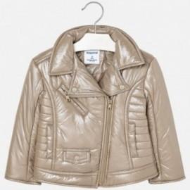 Mayoral 4428-16 Dívčí bunda s prošívanou velbloudovou barvou
