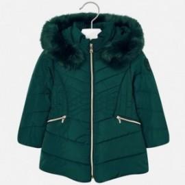 Mayoral 4437-74 Dívčí bunda barva lahvově zelená