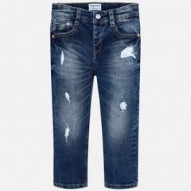 Mayoral 4520-21 Kalhoty chlapci džínové barvy tmavé