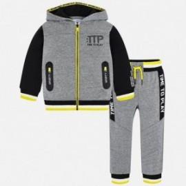Mayoral 4800-10 track-suit chlapecký barva šedé
