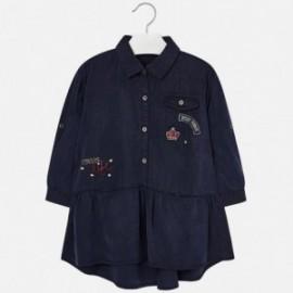 Mayoral 4968-5 šaty holčičí barva tmavé džíny