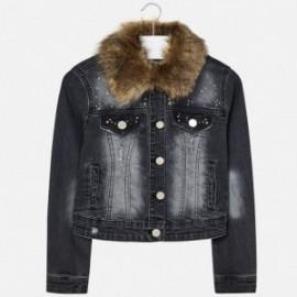 Mayoral 7468-22 Dívčí bunda džíny barva šedá