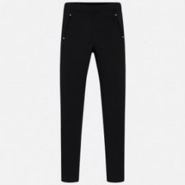 Mayoral 7536-47 Dívčí kalhoty černé