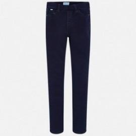 Mayoral 578-51 kalhoty dívčí barva tmavé džíny