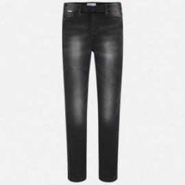 Mayoral 578-52 kalhoty dívčí barva šedé