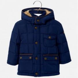 Mayoral 2473-15 Chlapecká bunda s tmavě modrou barvou