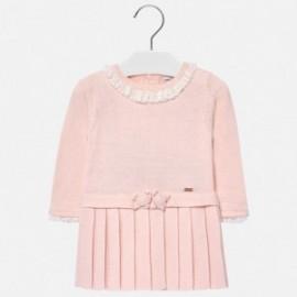 Mayoral 2930-10 Šaty pro dívku růžové barvy