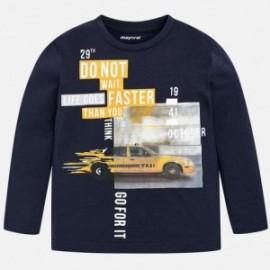 Mayoral 4018-65 tričko chlapci barva granát