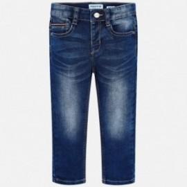 Mayoral 4516-29 Chlapčenské kalhoty barva námořnictva