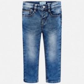 Mayoral 4516-30 Kalhoty chlapci džíny barva modrý