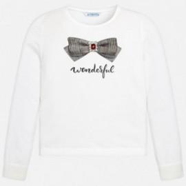 Mayoral 7044-88 Dívčí tričko s barevným krémem