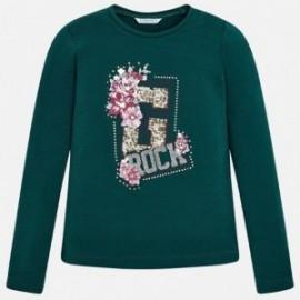 Mayoral 7076-60 tričko holčičí barva zelená Lahví