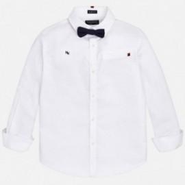 Mayoral 7136-50 košile pro chlapce s motýlkou bílé barvy