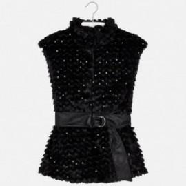 Mayoral 7413-66 Dívčí vesta barva černá