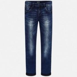 Mayoral 7512-15 kalhoty chlapci barva Tmavé džíny