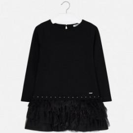 Mayoral 7940-33 Dívčí šaty barva černá