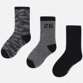 Mayoral 10474-45 ponožky chlapců černé