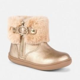Mayoral 42832-39 Dívčí boty zlaté barvy