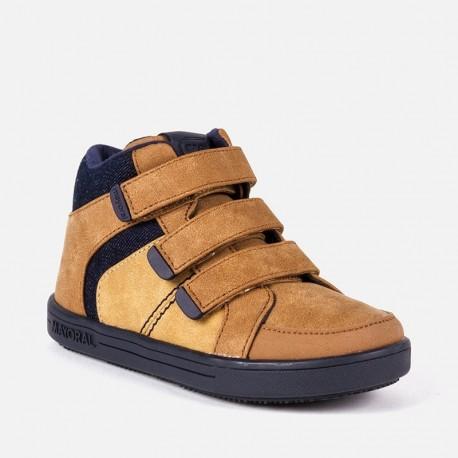 Mayoral 44899-73 Chlapčenská sportovní obuv velbloudová barva
