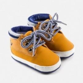 Mayoral 9922-17 Chlapčenské boty horské barvy hořčice