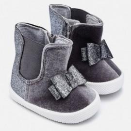 Mayoral 9934-82Dívčí boty chelsea barva šedá/stříbrná