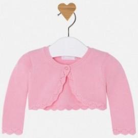 Mayoral 318-56 Dívčí svetr růžové barvy
