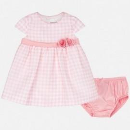 Mayoral 1828-9 Dívčí šaty růžové barvy