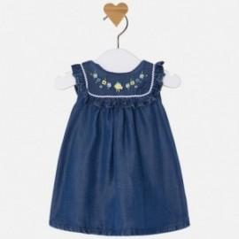 Mayoral 1860-4 šaty holčičí tmavé džínové barvy
