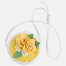 Mayoral 10413-69 Dívčí kabelka barva bílá/žlutá
