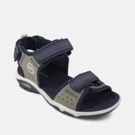 Mayoral 43937-96 Dětské sportovní sandály v šedé barvě