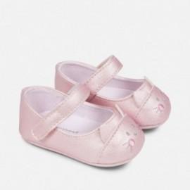 Mayoral 9808-17 Dětská obuv balerína barva růžová