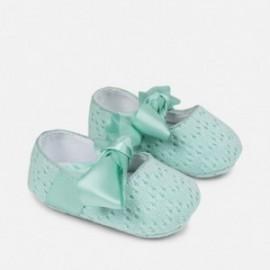Mayoral 9809-24 Dětská obuv pro dívku barvu vody